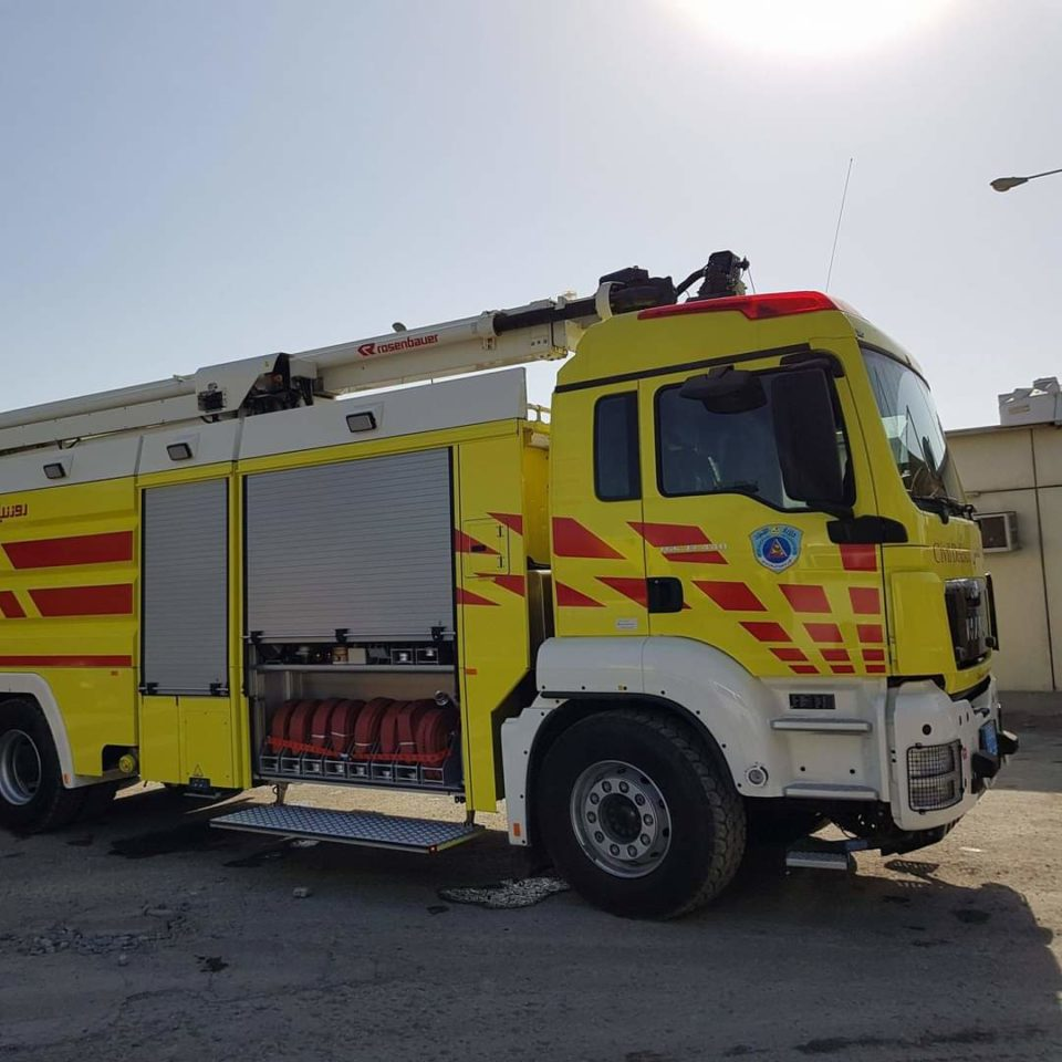 Civil Defence successfully controls slight smoke at an electrical substation near Mall of Qatar