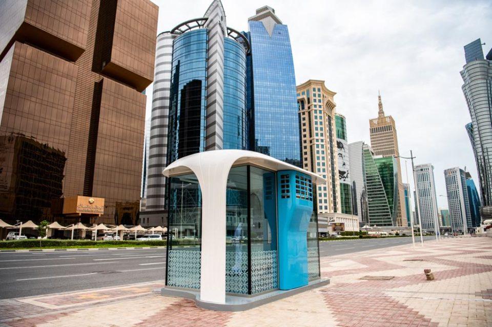Qatar Rail setting up 300 AC bus shelters