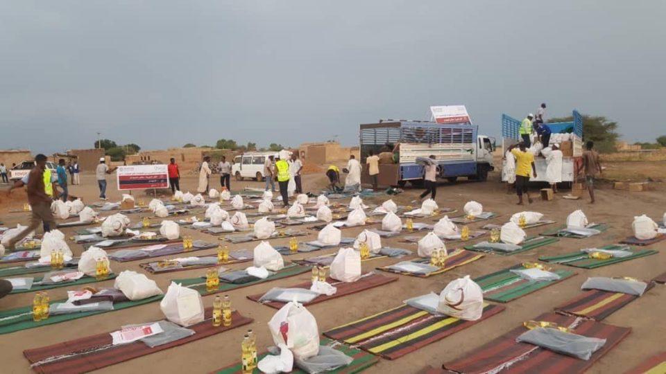 Qatari aid for Sudan flood victims