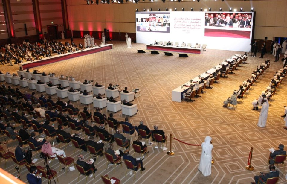 Afghanistan Peace Negotiation that began yesterday in Doha