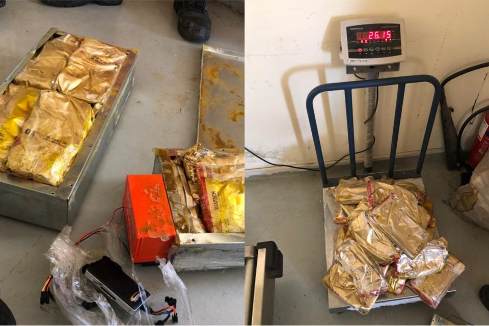 Customs thwarts attempt to smuggle hashish in metal cans